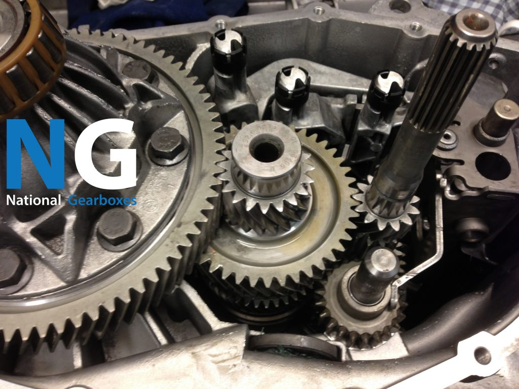 Inside the 5 speed BMW mini Getrag gearbox