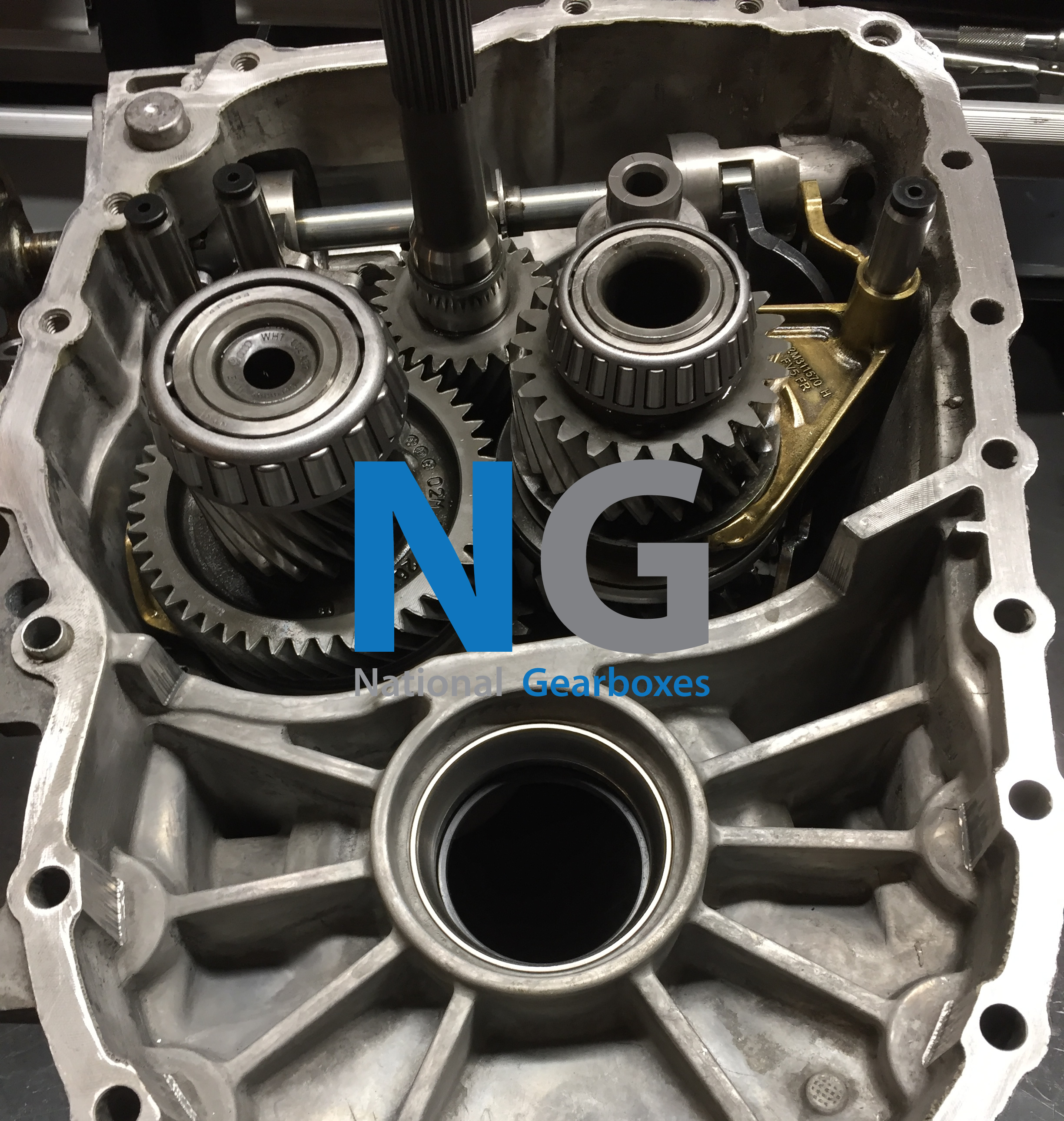 O2Q GEARBOX DURING REBUILD