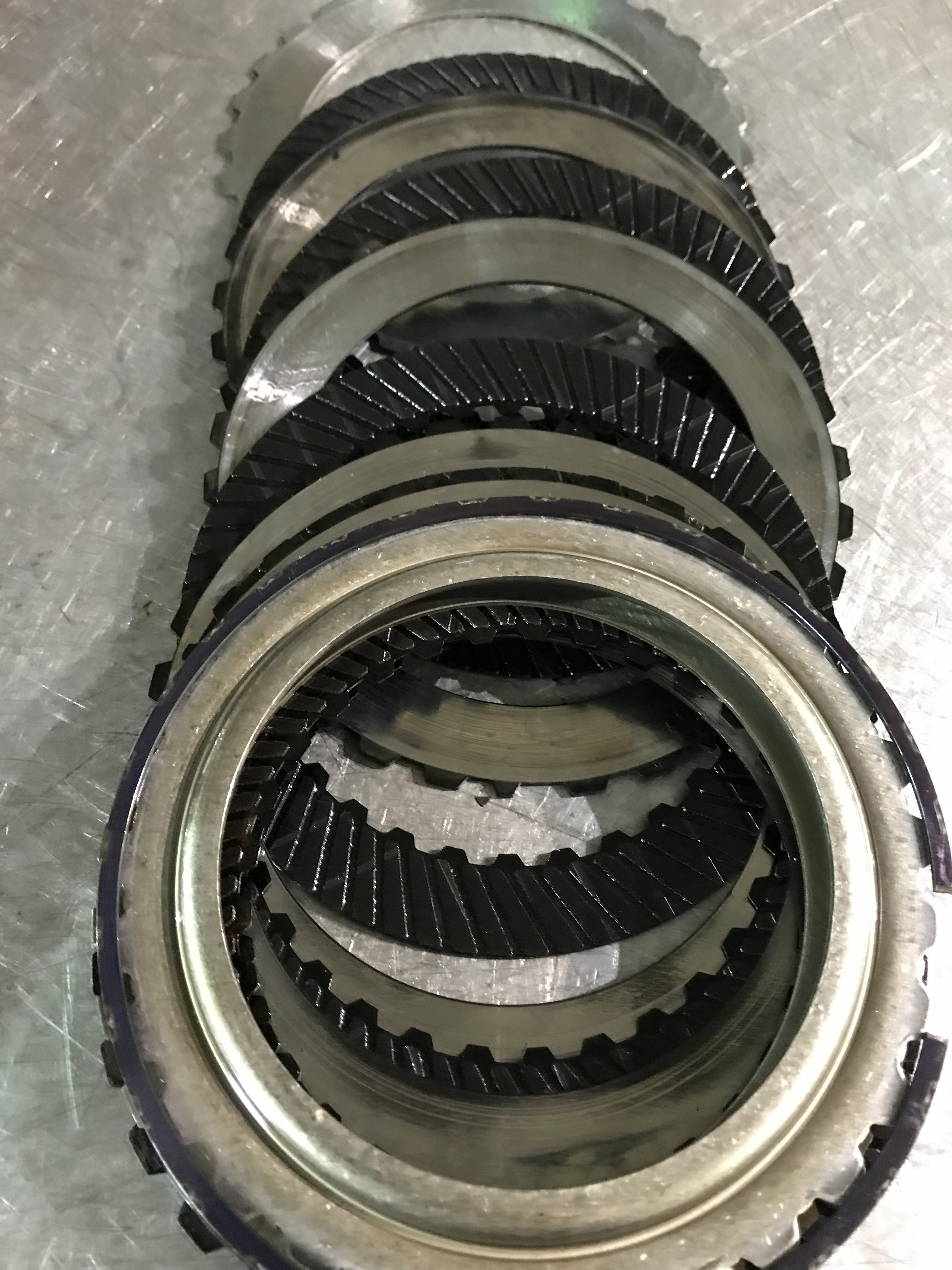 Audi A5 supercharged 7 speed DSG 0b5 defectice clutch pack